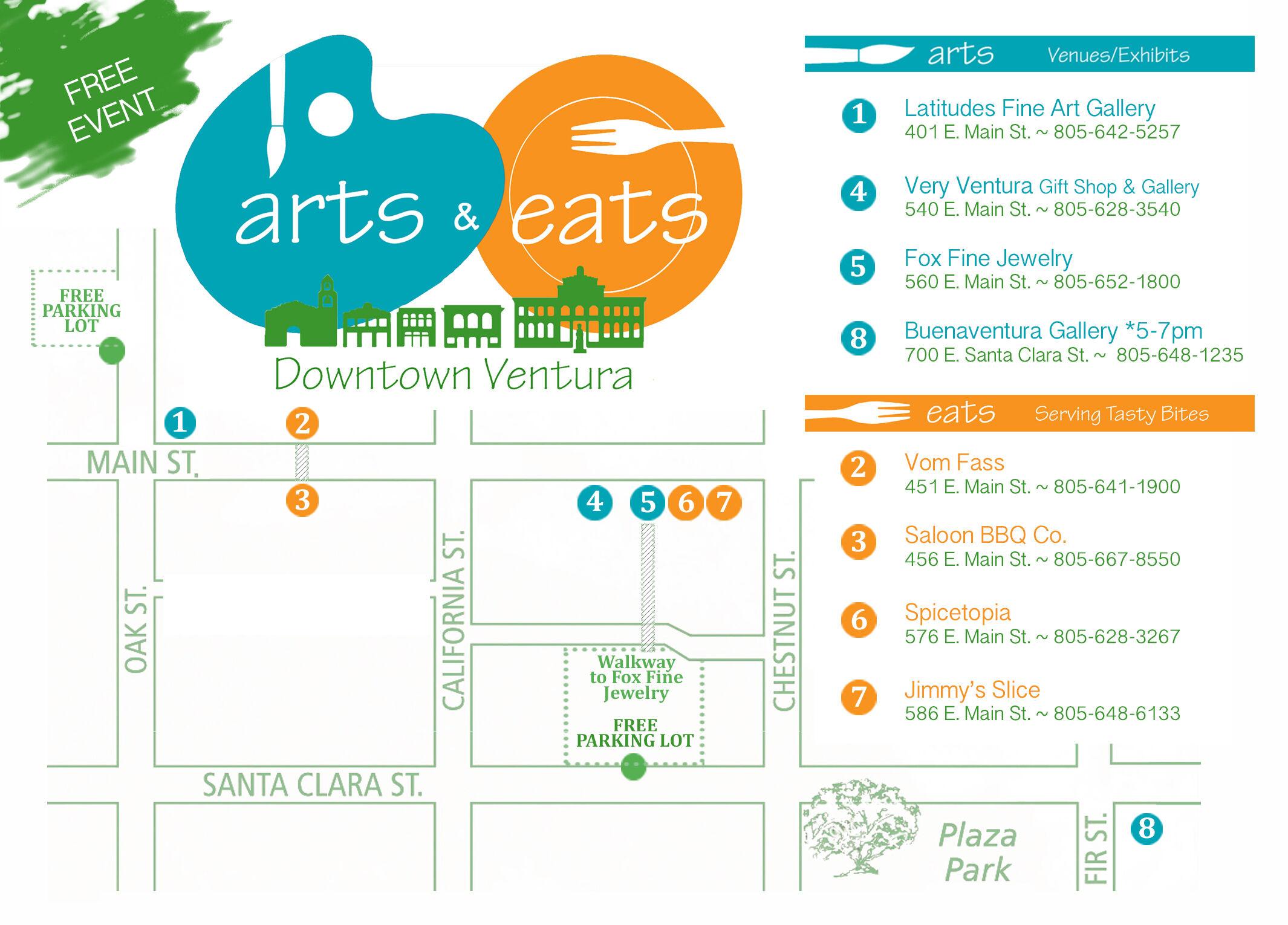 Arts & Eats – November 19th, 2016