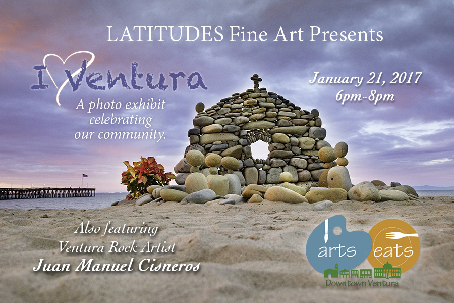 Ventura Rock Artist featured for Arts & Eats Event in Ventura