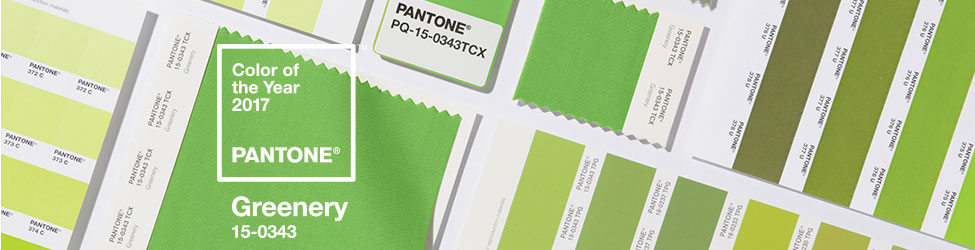 Pantone Color of the Year 2017- Greenery