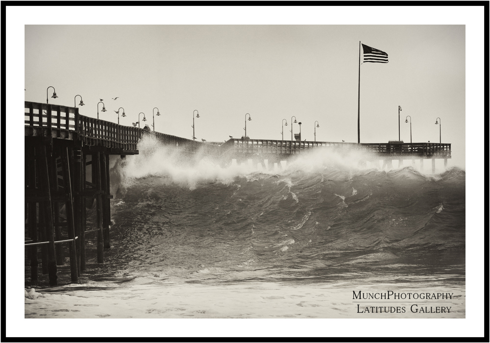 Ventura Pier Monster Wave
