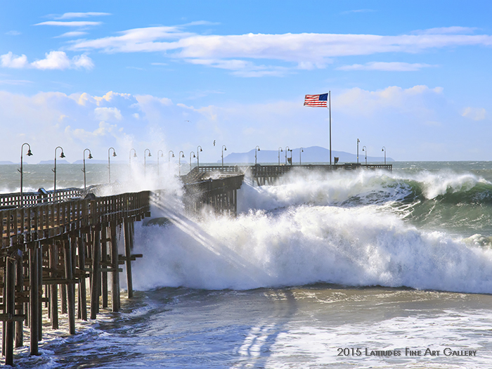 Big Waves at Ventura Pier…El Nino's Arrival