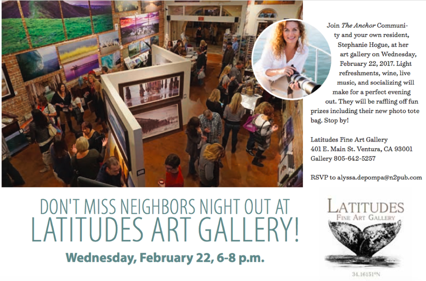 Neighbor's Night Out- Hosted by Latitudes